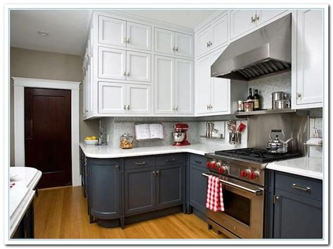 two colored kitchen cabinets dark white two tone kitchen cabinets combinations