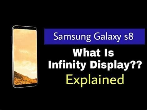 Hdc Samsung S8 Real Infinity Display what is infinity display explained exciting new feature samsung galaxy s8 infinity display
