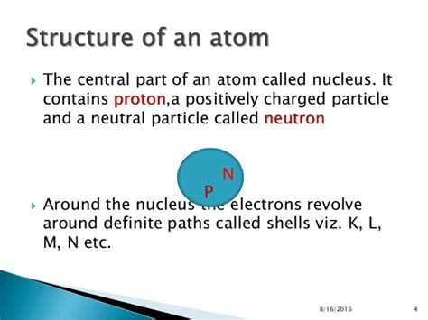 section 4 2 the structure of an atom atomic structure