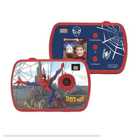 camara digital spiderman lexibook spiderman c 225 mara compacta digital infantil en