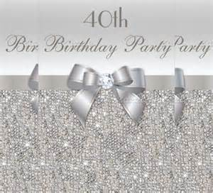 40th invitation templates 21 40th birthday invitation templates free sle