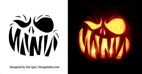 130 best images about halloween pumpkin carving template 10 free scary halloween pumpkin carving patterns