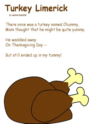 turkey limerick