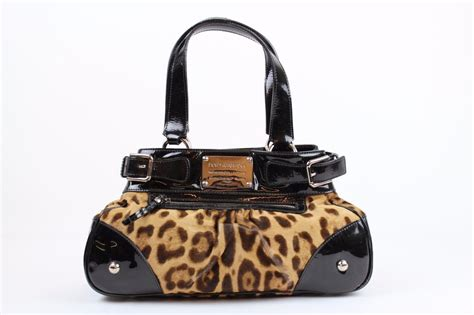 Dg Dolce And Gabbana Suzanne Satchel by Dolce Gabbana Leopard Purse Handbag Shoulder Bag Ebay