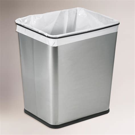 kitchen sink trash can 7 gallon stainless steel the sink trash can