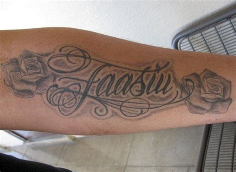 family tattoo on forearm family tattoo on forearm