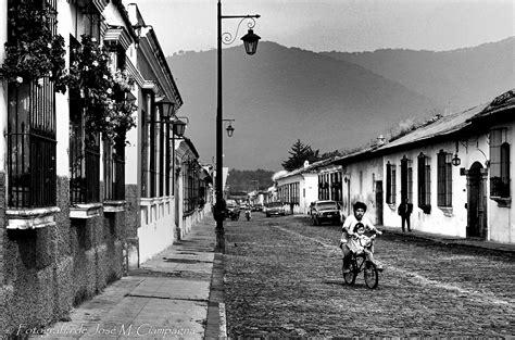 fotos a blanco y negro antiguas calles de antigua guatemala las fotos del profe jos 233