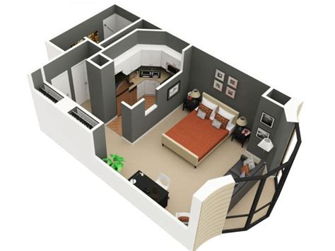 Home Design 3d Gold 2nd Floor by Studio 1 Bath Apartment In Chicago Il Eugenie Terrace
