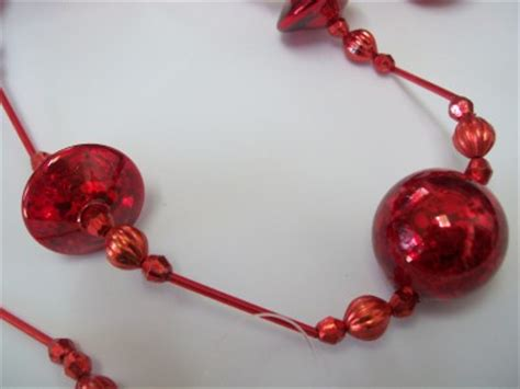 sullivans beaded ornament nwt 6 fancy glass bead garland ornament ebay