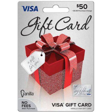 Who Accepts Visa Gift Cards - visa 50 gift card walmart com