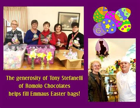 easter for emmaus guests benedictine of erie