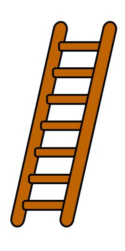 ladder images clip drawing a ladder