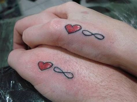 infinity tattoo couples 25 love tattoos for couples