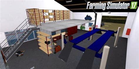 ls 17 werkstatt placeable andys werkstatt v1 3 objects for ls 17 farming