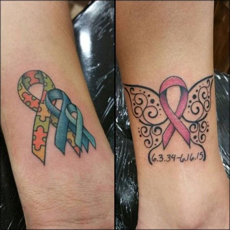 ribbon wrist tattoos 130 inspiring breast cancer ribbon tattoos june 2018
