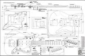 Fender Jaguar Plans Scale Jazzmaster Guitar Bodies And Kits From Byoguitar