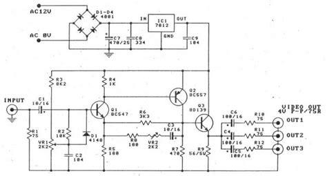 Speaker Split 3 Way Lm Audio splitter and lifier circuit diagram electronic