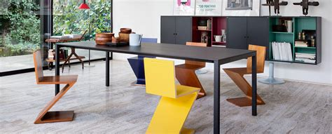 Home Design Examples by 280 Zig Zag Chair By Gerrit Thomas Rietveld Cassina