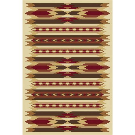 painted desert rug orian 174 painted desert rug 23x89 quot 176288 rugs at sportsman s guide