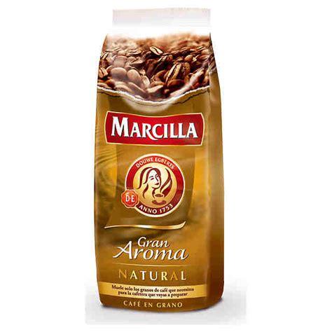 MARCILLA Gran Aroma natural coffee in beans packet 1000 g   COFFEE , HERBAL   English la tienda
