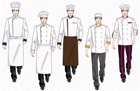 design your own cafe uniform restaurant uniform design kitchen chef uniform design