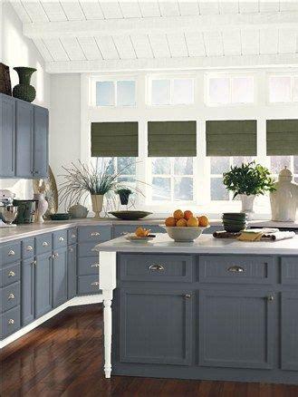 benjamin moore ocean floor  kitchen island color idea