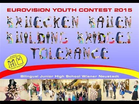 Bilingual Biology 2 For Junior bilingual junior high school wr neustadt beitrag quot eurovision youth contest 2015 quot ii