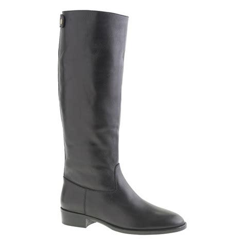 jcrew shoes j crew field boots in black lyst
