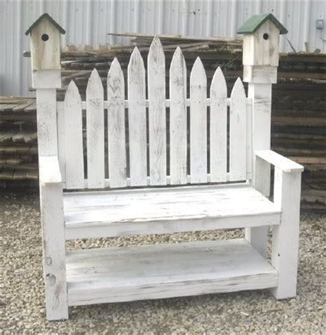 birdhouse bench birdhouse garden bench plans made from old fencewood
