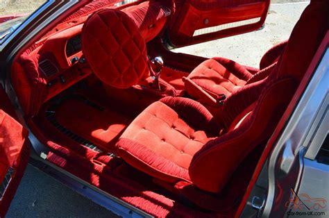 honda crx   clean show car red interior velvet