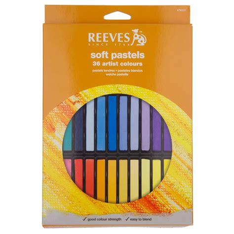 Reeves Soft Pastels 24 Pcs Berkualitas reeves soft pastel set