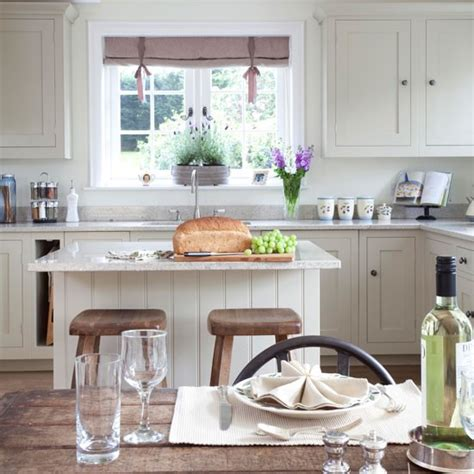 country kitchen island ideas rustic country kitchen diner kitchen idea housetohome