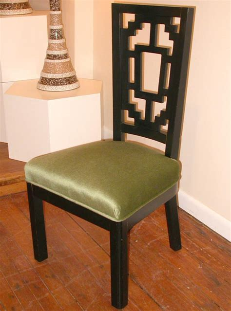 set   oriental style dining chairs  stdibs