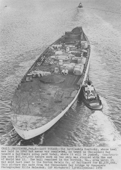kingfisher boats long eaton the unfinished us battleship uss kentucky heading to the