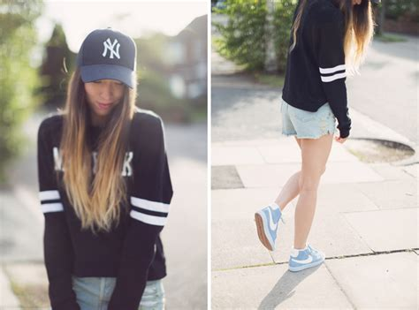 Jemper Nike Flace new york jumper and nike blazers in the