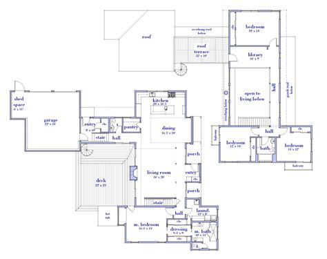 floor plan modern house top modern house floor plans cottage house plans