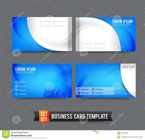 how to set up a business card template in photoshop business card template set vector cartoondealer