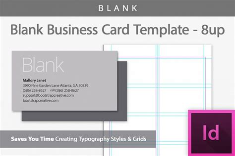 front and back business card template indesign blank business card indesign template b design bundles