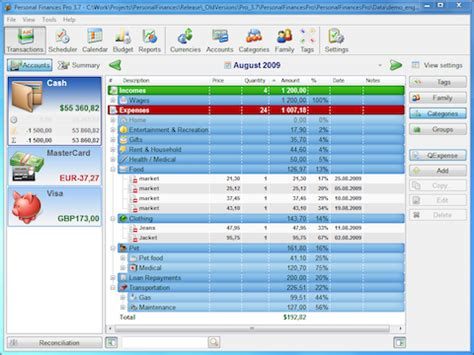 personal finance and home budget software 3 7 released