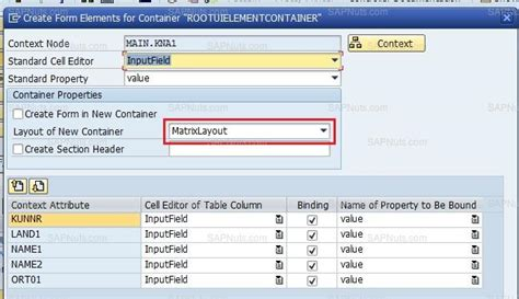 layout web dynpro abap using matrix layout in webdynpro layouts in webdynpro