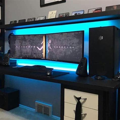 bureau pour pc gamer 17 meilleures id 233 es 224 propos de pc gaming setup sur