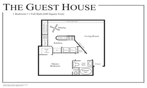 house plan with guest house small guest house floor plans small guest house floor