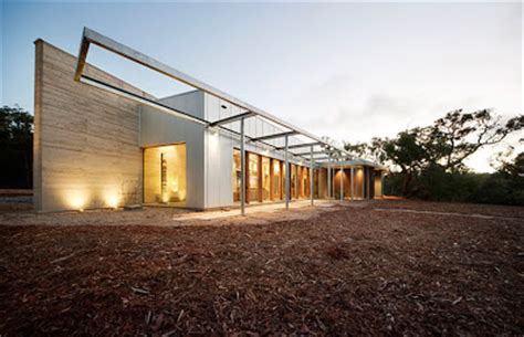 Landscape Boundary Definition Interiors 2011 Hinterland House Architecture In