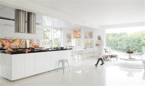 house design with white color casa escandinava en blanco absoluto con vistas dise 241 o escandinavo