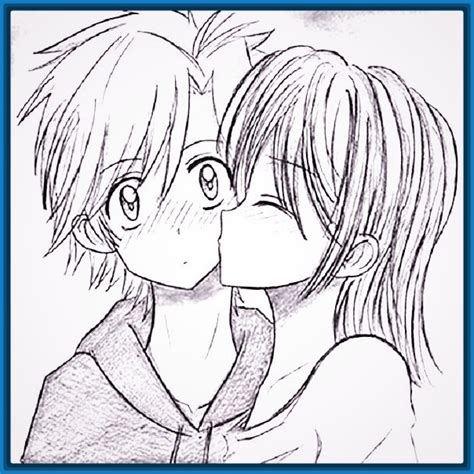 Imagenes Anime Faciles De Dibujar | simple imagenes de amor para dibujar