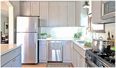Diy Painted Kitchen Cabinets | rosa beltran design diy painted kitchen cabinets