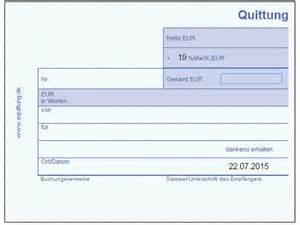 Microsoft Word Vorlage Quittung Quittung Vorlage Chip
