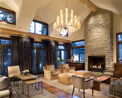 Modern Rustic Living Room Ideas Fireplaces Add Warmth And Style To The Modern Home