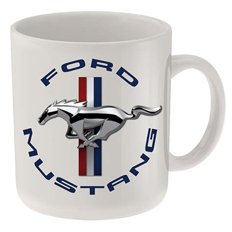 FORD MUSTANG COFFEE MUG   Ford   Barware   Man Zone   Gift Ideas, Memorabilia, Man Cave Supplies