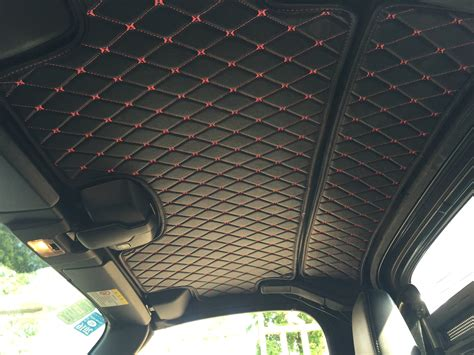 car ceiling upholstery quilted hardtop headliner prht premade material the